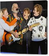 Friends In Concert Canvas Print