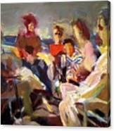 Friends In Ensanada Canvas Print