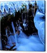 Frigid Flow Canvas Print