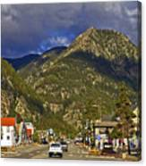 Frisco By The Mountain Canvas Print