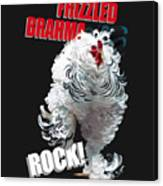 Frizzled Brahma T-shirt Print Canvas Print
