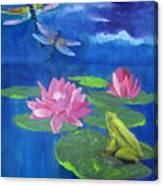 Frog Dreams Canvas Print