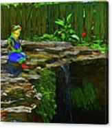 Froggy 11318 Canvas Print