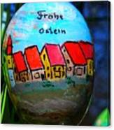 Frohe Ostern Canvas Print