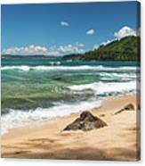 From Bali Hai To Hanalei Canvas Print