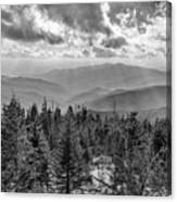 From Clingmans Dome Canvas Print