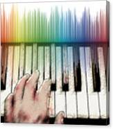 From Keyboard To Keyboard Canvas Print