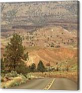 From Mitchell To Smith Rock  Canvas Print