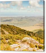 From Mountains To Seas Canvas Print