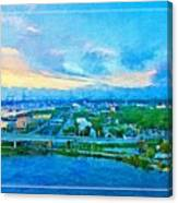 From My Window Canvas Print