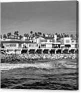From Redondo Beach Pier Canvas Print