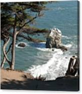 From The Cliff Of Lands' End Canvas Print