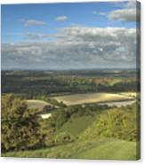 From The Downs To The Weald Canvas Print