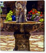 From The Fountain Canvas Print