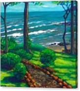 From The Hacienda Canvas Print