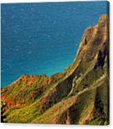 From The Hills Of Kauai Canvas Print