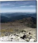 From The Summit Canvas Print