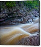 From The Top Of Temperence River Gorge Canvas Print