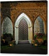 Front Door Christ Church Cathedral 1 Canvas Print