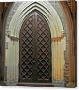 Front Door Christ Church Cathedral 4 Canvas Print