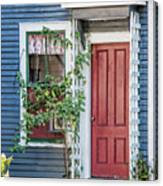 Front Door Three Canvas Print