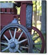Front End Of A Mccormic Deering Tractor Canvas Print
