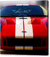 Front Ford Gt Canvas Print