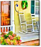 Front Porch 2 Canvas Print