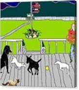 Front Porch Fun Canvas Print