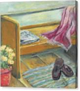 Front Porch Shoes Canvas Print