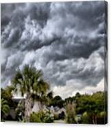 Frontal Clouds Canvas Print