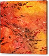Frosted Fire I Canvas Print