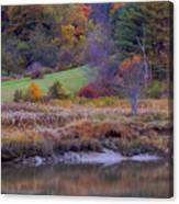 Frosty Autumn Morn Canvas Print