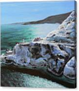 Frosty Fort Amherst Canvas Print