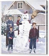 Frosty In Fifty Canvas Print