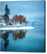 Frosty Reflection Canvas Print