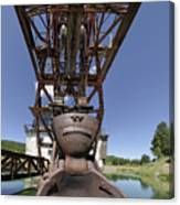 Frowning Dredge Canvas Print