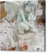 Frozen Fairy Canvas Print