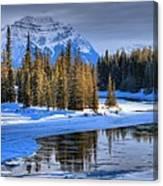 Frozen Jasper Paradise Canvas Print