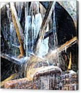 Frozen - John P. Cable Grist Mill Canvas Print