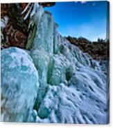 Frozen Kaaterskill Falls Canvas Print