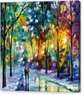 Frozen Night Canvas Print