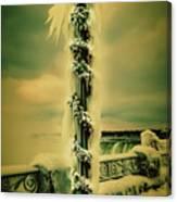 Frozen Over Niagara Falls Canvas Print