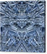 Frozen Symmetry Canvas Print