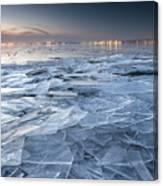 Frozen Town Canvas Print