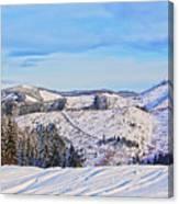 Frozen Valley 2 V3 Canvas Print