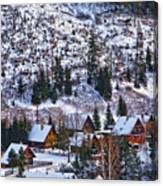 Frozen Village V2 Canvas Print