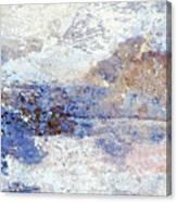 Frozen Vista Canvas Print