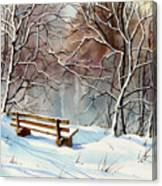 Frozen  View Canvas Print