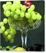Fruit And Crystal. Canvas Print